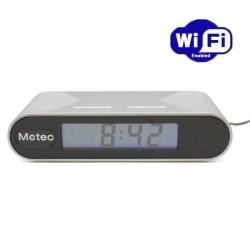Camara espia WIFI en reloj despertador 1080p con IR y deteccion de movimiento PV-FM20HDWI LawMate