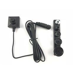 BU18 Neo Mini cámara oculta de botón 2MP baja luminosidad
