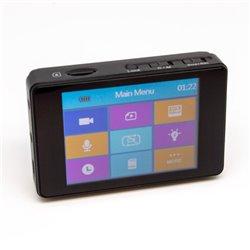 Kit Grabador digital portátil PV 500 ECO2 de LawMate + Cámara espía tipo botón CM-BU18